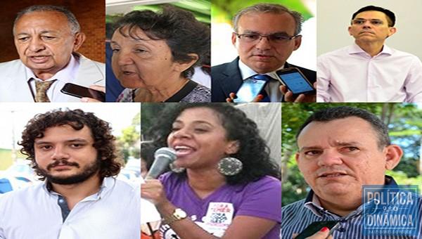 Candidatos informam valores das doações (Foto: Montagem)