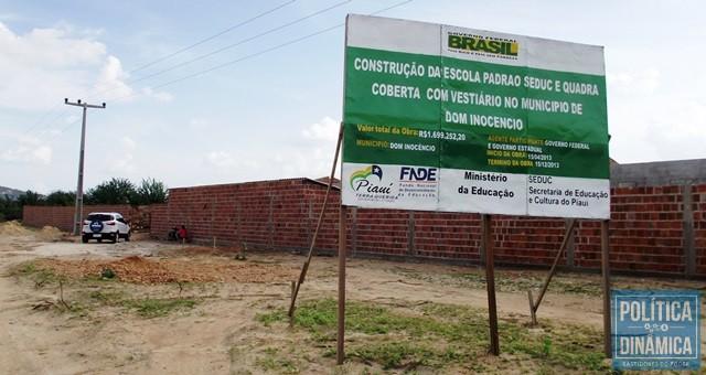 Foto tirada em 2013, na época da construção (Foto: Gustavo Almeida/PoliticaDinamica.com)