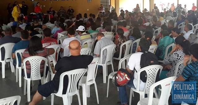 Professores decidiram pela greve na sexta-feira (10) em Teresina (Foto: Divulgação/Sinte/PI)
