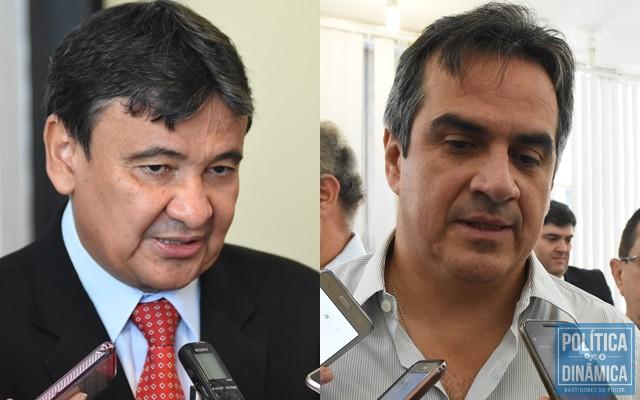 Wellington Dias e Ciro Nogueira teriam se beneficiado com doações da JBS (Foto: Jailson Soares | PoliticaDinamica.com)