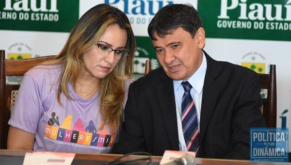 Gestão da secretária Rejane Dias é investigada por suposta fraude em licitação (Foto:JailsonSoares/PoliticaDinamica.com)