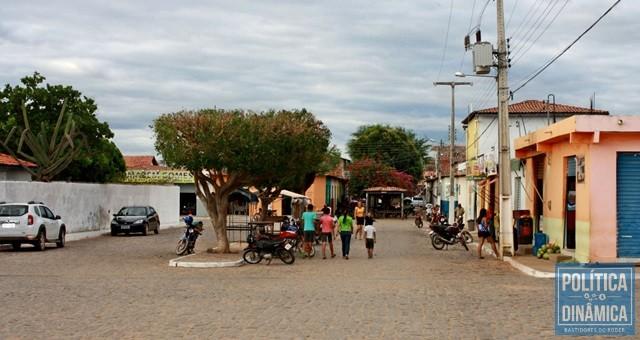 A cidade de Dom Inocêncio, no sertão do PI (Foto: Gustavo Almeida/PoliticaDinamica.com)