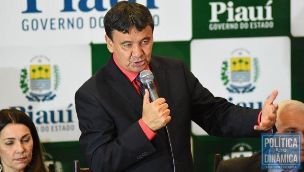 Wellington Dias tem agradado pela generosidade com os aliados (Foto: JailsonSoares/PoliticaDinamica.com)