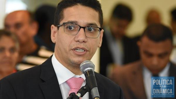 O secretário de Justiça Daniel Oliveira (Foto: Jailson Soares/PoliticaDinamica.com)