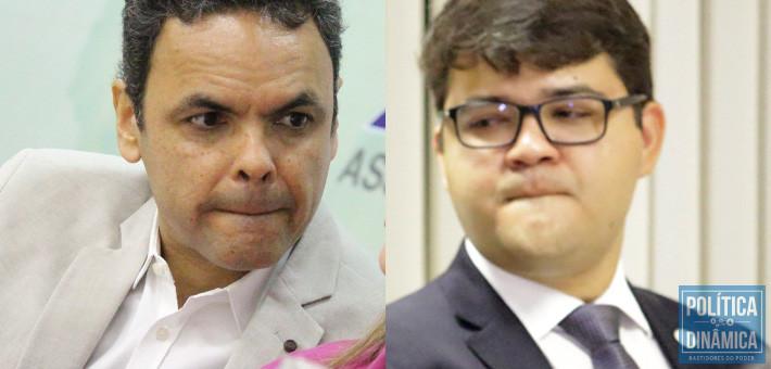 Gil e Chico: ambos estão querendo entrar no mesmo elevador para chegar num andar bem acima do que se encontram hoje na política; resta saber quem vai sair sorrindo de dentro dele (fotos: Jailson Soares | PoliticaDInamica.com)