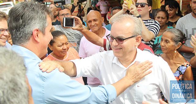 Ciro e Firmino tinham planos que mudaram com a morte do ex-prefeito de Teresina, mas o objetivo continua o mesmo: derrotar Wellington Dias (foto: Jailson Soares   PoliticaDinamica)