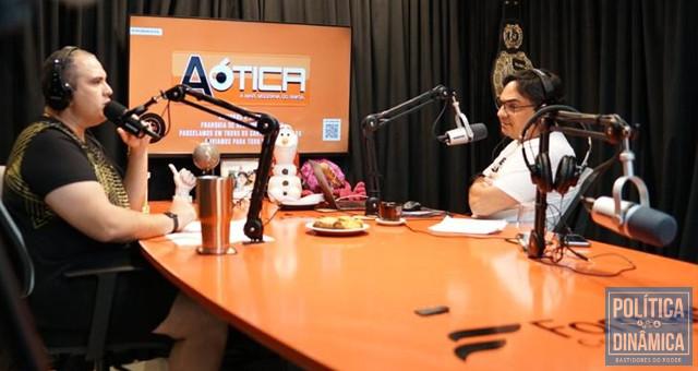 Dez anos depois: Ieldyson e Jivago conversando sobre tudo o que o público não sabe sobre o Caso Fernanda Lages no IelCast (foto: reprodução)