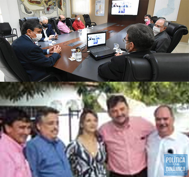 Wellington, Wilson, Robert e Osmar Junior, juntos no governo, juntos na propaganda; Made Propaganda tem hoje ligações com PT, PSB e PCdoB(foto: Ascom   Arquivo)