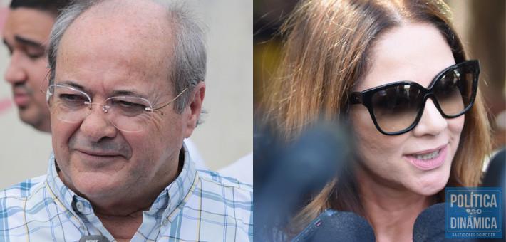 Silvio e Lucy: será possível reagrupar as lideranças que orbitavam no entorno de Firmino? (fotos: Jailson Soares | PoliticaDinamica)