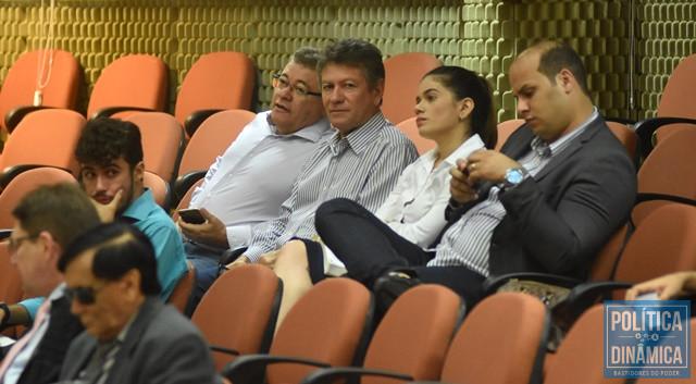 Os irmãos Edson Ferreira e Avelar na sessão (Foto: Jailson Soares/PoliticaDinamica.com)