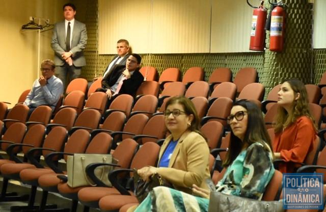 Deputada Margarete Coelho foi ao TRE-PI (Foto: Jailson Soares/PoliticaDinamica.com)