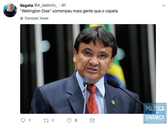 FRAUDE NO TWITTER Marcos Melo Política Dinâmica