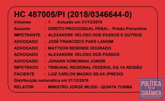 huge selection of 1518e 9594f Paes Landim está na lista de advogados que entraram com o pedido de Habeas  Corpus que