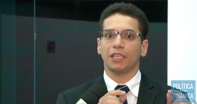 Os telespectadores ficaram assustados com a reação de Daniel ao ser questionado por jornalistas sobre a gestão do sistema carcerário e o uso de recursos federais investigados pelo MPF (imagem: reprodução)