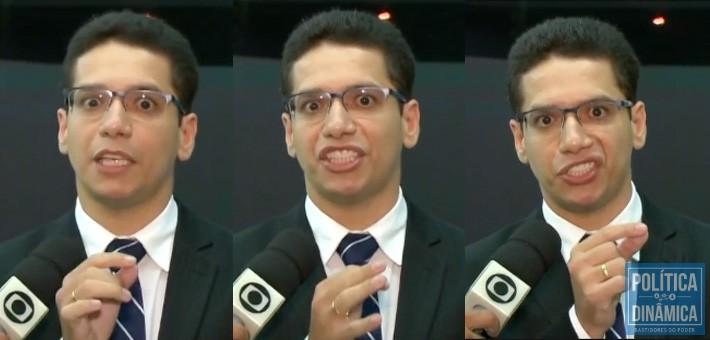 A TV Clube, afiliada da Rede Globo, exibiu a incompetência da Sejus e a falta de transparência no gasto dos recursos públicos; o secretário surtou em entrevista ao vivo e acusou jornalistas de ajudarem facções criminosas (imagem: reprodução)