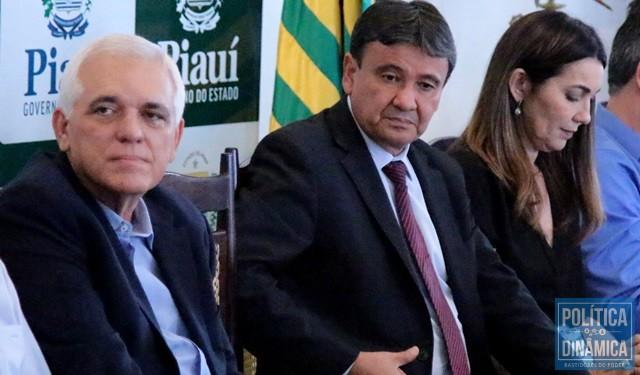 Governador protela definição sobre vice (Foto: Marcos Melo/PoliticaDinamica.com)