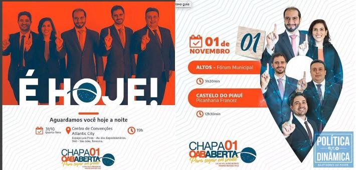 JOGO SUJO NA OAB Marcos Melo Política Dinâmica