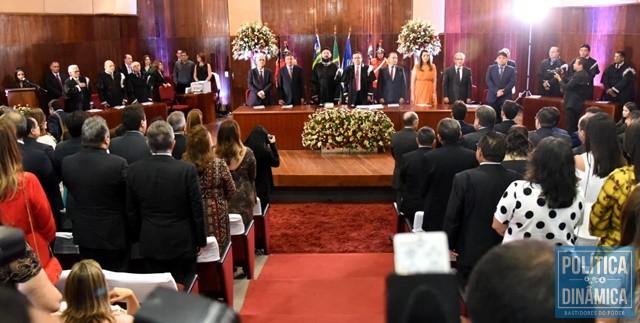 best service ccbb0 70a39 Solenidade aconteceu na sede do TJ-PI (Foto  Jailson  Soares PoliticaDinamica.