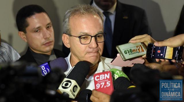 Firmino decretou luto por vítimas da Covid-19 (Foto: Jailson Soares/PoliticaDinamica.com)