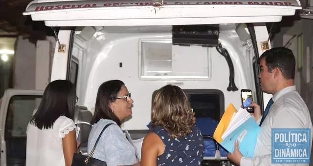 Faltam recursos financeiros e infraestutura adequada no hospital de Campo Maior (foto: Ascom CRM)