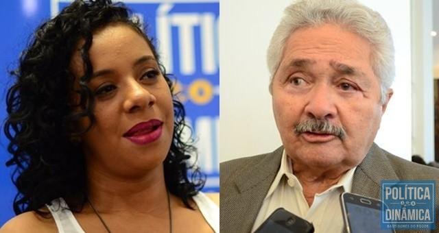 check out a8c92 a80f5 Luciane Santos é a candidata mais jovem na corrida pelo governo estadual    Elmano o mais