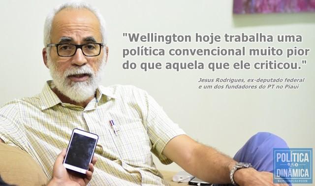 Ele falou sobre mudança de Wellington Dias (Foto: Jailson Soares/PoliticaDinamica.com)