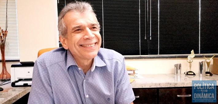 De boa: JVC tem o apoio da família, alinhamento com a oposição e a coragem para ser o candidato contra Wellington Dias nas eleições de 2018 (foto: Marcos Melo | PoliticaDinamica.com)