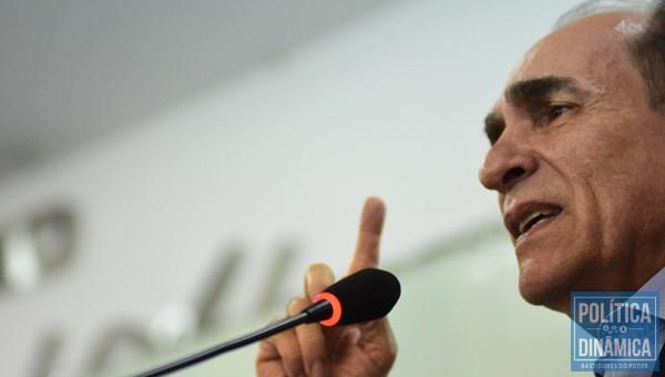 Marcelo Castro critica chapa pura do PT e chapinha de Evaldo (Foto:JailsonSoares/PoliticaDinamica.com)