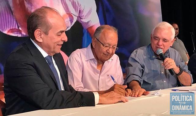 A eleição de Pessoa deu nova envergadura ao MDB e o partido agora já olha para 2022 querendo o governo (foto: divulgação)