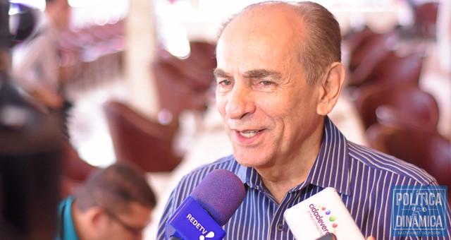 Senador Marcelo Castro (MDB) articula vaga de vice na chapa para o MDB, mas quer que PSD continue na base.