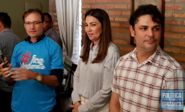 Prefeitos fizeram ato em defesa de Margarete (Foto: Marcos Melo/PoliticaDinamica.com)