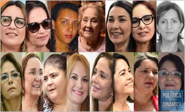 e2de60be6fca6 As 15 mulheres que se elegeram para a Alepi (Foto   Montagem PoliticaDinamica.