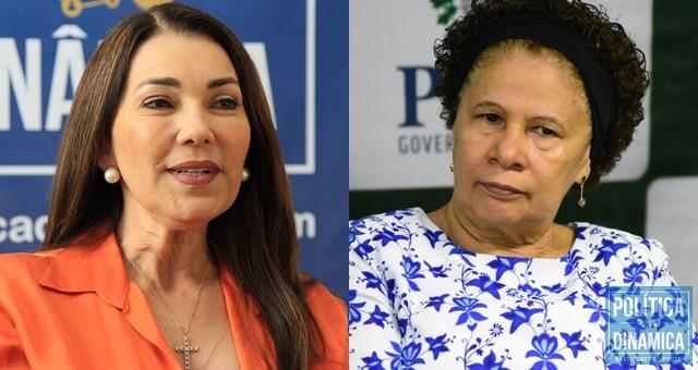 Margarete e Regina fizeram história ao tomar posse (Foto:Jailson Soares/PoliticaDinamica)