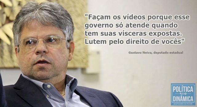 Deputado cobra exposição de descasos (Foto: Jailson Soares/PoliticaDinamica.com)