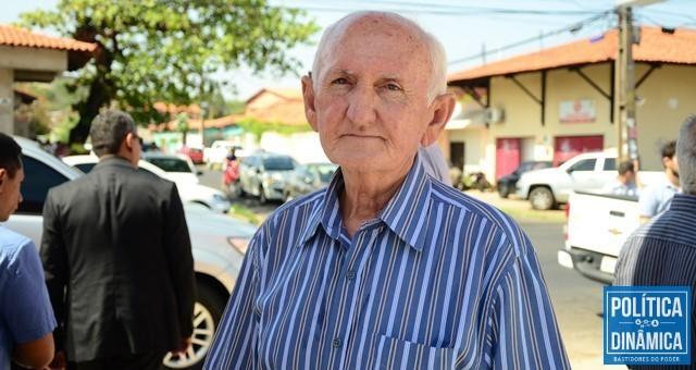 5cb5c658e O prefeito de Itaueira, Quirino Avelino (Foto: Jailson  Soares/PoliticaDinamica.com