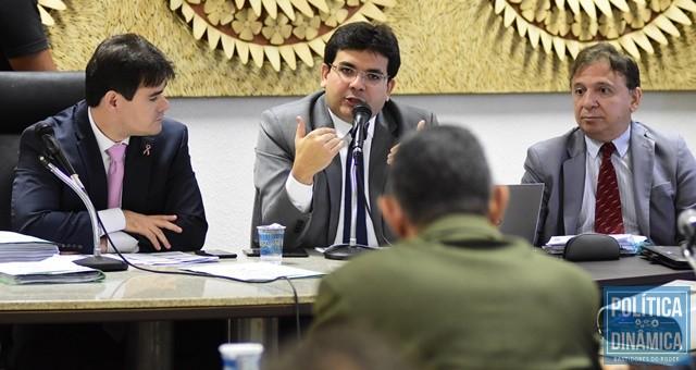 Rafael expôs a situação para deputados (Foto: Jailson Soares/PoliticaDinamica.com)
