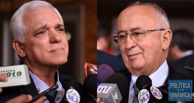 Themístocles Filho (MDB) e Júlio César (PSD) querem vaga de vice na chapa do PT.