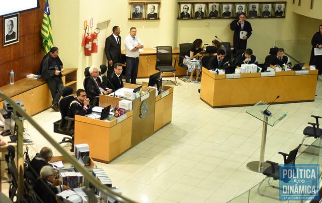 Plenário tentou iniciar julgamento nesta terça (10) (Foto: Jailson Soares/PoliticaDinamica)