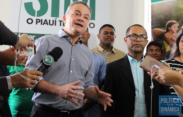 06fd08a45 Valter Alencar e o vice Raimundo Filho (Foto: Jailson  Soares/PoliticaDinamica.com