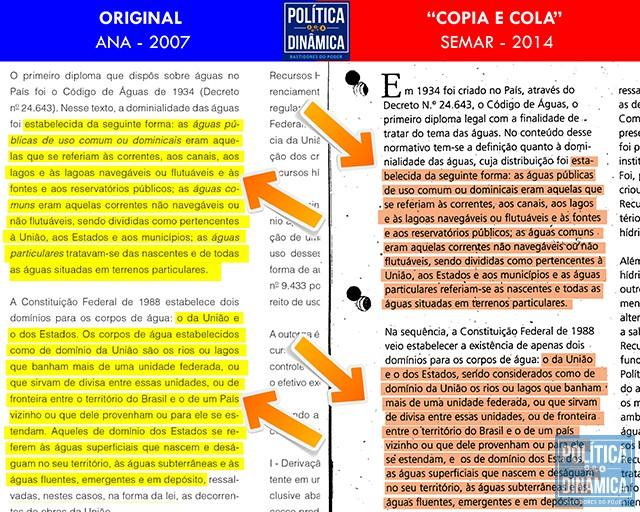 O trabalho entregue por Viviane Moura e pelo qual ela cobra R$ 460 mil do Governo subestima a inteligência dos analistas do TCE-PI e o mecanismos de busca do Google (imagem: PoliticaDinamica.com)
