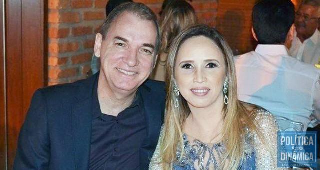 Olavo Bezerra e Viviane Moura cobraram R$ 460 mil por um trabalho praticamente copiado da internet, segundo os autos do TCE-PI (foto: Roberta Rocha | RobertaRocha.com)
