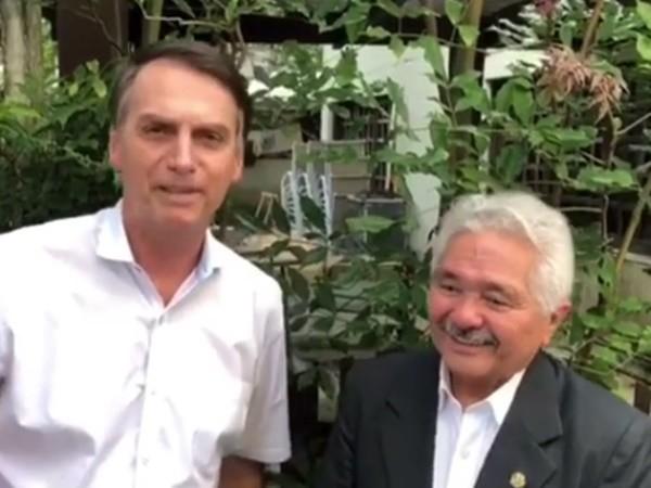 ca5be823310e5 ELMANO JUNTO COM BOLSONARO - Gustavo Almeida - Política Dinâmica
