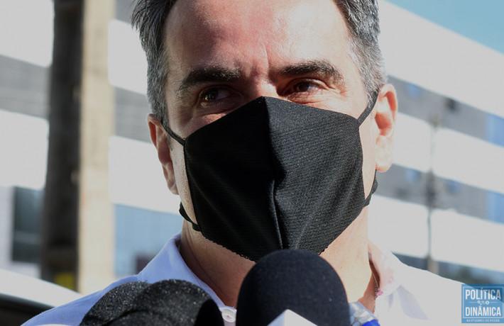 Cortejo do corpo do ex-prefeito Firmino Filho